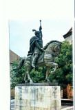 CP82-10 -Alba Iulia, Statuia lui Mihai Viteazul, de O.Han