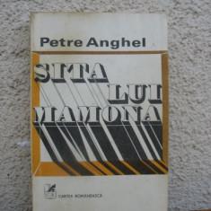 Petre Anghel - Sita lui Mamona - Roman, Anul publicarii: 1980