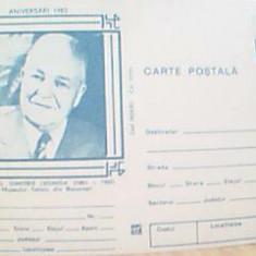 CARTE POSTALA ING.DIMITRIE LEONIDA DIN 1983