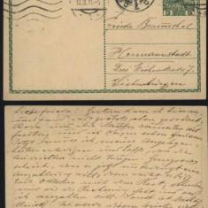 Cp circulata la Sibiu din Viena , 1911 , Hermannstadt