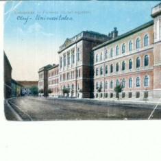 CP106-18 -Kolozsvar (Cluj )-Ferencz Jozsef egyetem (Universitate - Carte Postala Transilvania dupa 1918