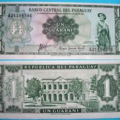 PARAGUAY 1952 - 1 GUARANI - UNC