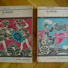 Homer - Iliada, 2 vol. - Roman, Anul publicarii: 1973