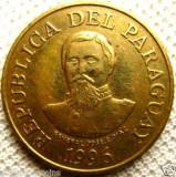 Bnk mnd paraguay 100 guaranies 1996 unc , personalitati