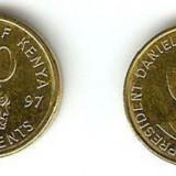 bnk mnd kenya 50 centi 1997 unc , personalitati