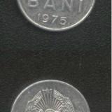 Bnk mnd romania 5 bani 1975 - Moneda Romania
