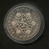 Bnk mnd Alderney 2 pounds 1989 unc, Europa
