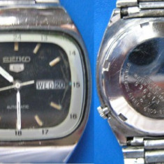Ceas vechi SEIKO 5 6309 automatic - de colectie (b) - Ceas barbatesc Seiko, Mecanic-Automatic