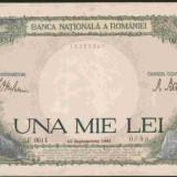 Bnk bn romania 1000 lei 10 septembrie 1941, aunc - Bancnota romaneasca