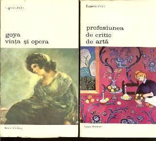 Eugenio d'Ors - Goya, Viata si opera * Profesiunea de critic de foto