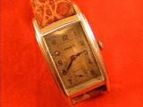 De colectie ! Superb ceas de mana dreptunghiular JUNGHANS vintage anii' 20
