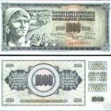 Bnk bn iugoslavia 1000 dinari 1978 unc
