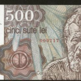 Bnk bn romania 500 lei aprilie 1991 unc - Bancnota romaneasca
