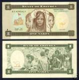 Bnk bn Eritrea 1 nafka 1997 unc