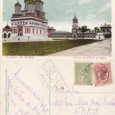 Curtea de Arges. Biserica si Resedinta Regala, cenzurat, 1919