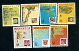 NICARAGUA - SERIE TIMBRE  CACTUSI  A 4