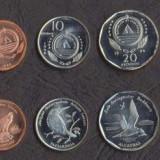 CAPUL VERDE SET DE MONEDE 1+5+10+20+50 Escudos 1994 PASARIME UNC, Africa