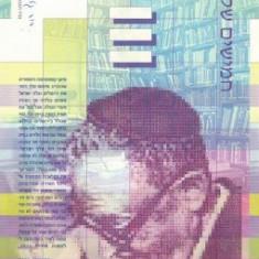 ISRAEL █ bancnota █ 50 New Sheqalim █ 2001 █ P-60b █ UNC █ necirculata