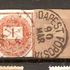 Timbre Ungaria 1874/*20 - marca de ziar