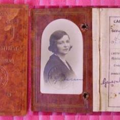 Caile Ferate Romane, carnet cu reducere 50% la bilet, 1931 - Pasaport/Document