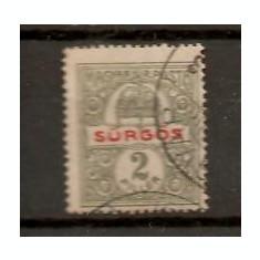 Timbre Ungaria 1916/*180