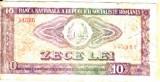 BANCNOTA 10 LEI 1966