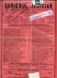A82 Curierul Judiciar -Anul XL No. 3 - 18 Ian. 1931 -timbru