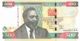 KENYA █ bancnota █ 500 Shillings █ 2006 █ P-50b █ UNC █ necirculata