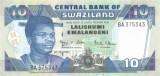SWAZILAND █ bancnota █ 10 Emalangeni █ 2006 █ P-29c █ UNC █ necirculata