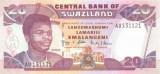 SWAZILAND █ bancnota █ 20 Emalangeni █ 2004 █ P-30b █ UNC █ necirculata