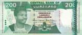 SWAZILAND █ bancnota █ 200 Emalangeni █ 1998 █ P-28 █ UNC █ necirculata