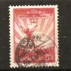 Timbre Ungaria 1933/*504 stampilate