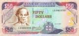 JAMAICA █ bancnota █ 50 Dollars █ 2007 █ P-83e █ UNC █ necirculata