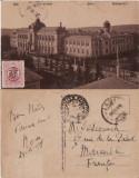 Iasi- Universitatea-militara WWI, WK1, Circulata, Printata