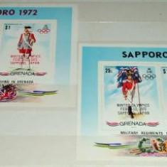 GRENADA 1972 - UNIFORME MILITARE - SUPRATIPAR- NEUZATE - Timbre straine