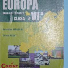 GEOGRAFIA CONTINENTELOR, EUROPA, CLASA a VI-a - Manual scolar corint, Clasa 6, Corint
