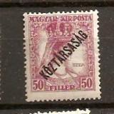 Timbre Ungaria 1918/*241 = ZITA cu supratipar, Nestampilat