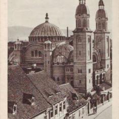 2409 Sibiu Catedrala Ortodoxa foto Fischer circulat 1942