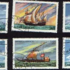 Corabii- Sao Tome si Principe - Timbre straine