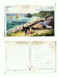 CP122-76 Carmen Sylva -Plaja de la Mare si baile Solare -1929