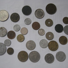 + Lot minicolectie 17 monede Romania +