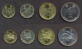 HONG KONG █ SET DE MONEDE █ 10, 20, 50 Cent, 1 Dollar █ 1997-1998 █ UNC, Asia