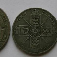 Lot monede argint Anglia 1920
