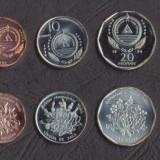 CAPUL VERDE SET DE MONEDE 1+5+10+20+50 Escudos 1994 PLANTA UNC, Africa