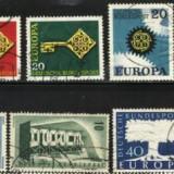 Germania - EUROPA CEPT, 4 serii stampilate KJ25 - Timbre straine