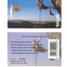 CARTELA NOUA ZEELANDA - ALPINIST - PENTRU COLECTIONARI ** - Cartela telefonica straina