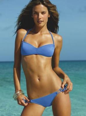 Victoria's Secret - costum de baie albastru!Super! foto