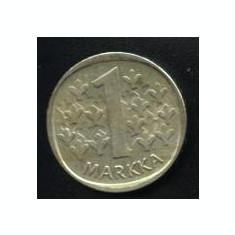 Finlanda 1 MARKKA 1972