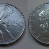 ITALIA 50 LIRE 1977 **, Europa