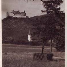 2217Crasna Castelul si biserica, circulat 1940
